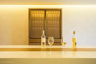 chateau d'Yquem, tasting room